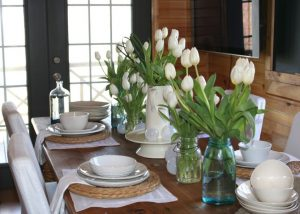 http://julianyoung.co/dining-table-wood-uncategorized-antique/modern-dining-table-centerpiece-white-vase-and-transparent-bottles-with-flowers-as-dining-table-centerpiece-ideas/
